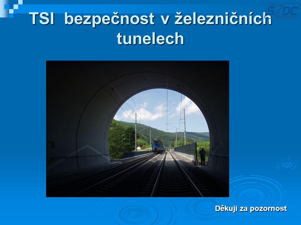 TSI bezpečnost v železničních tunelech