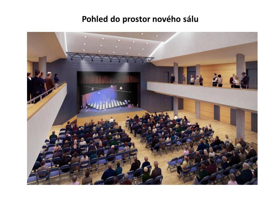 Pohled do prostor nového sálu