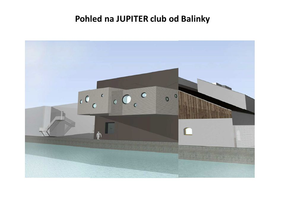 Pohled na JUPITER club od Balinky