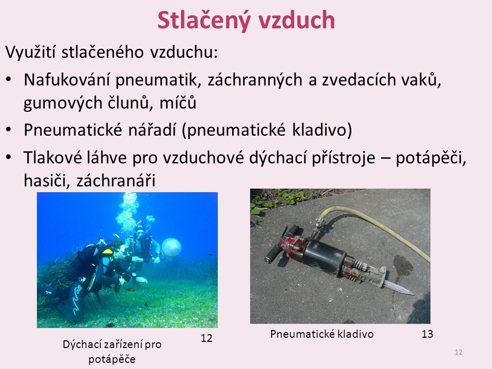 Dýchací zařízení pro potápěče