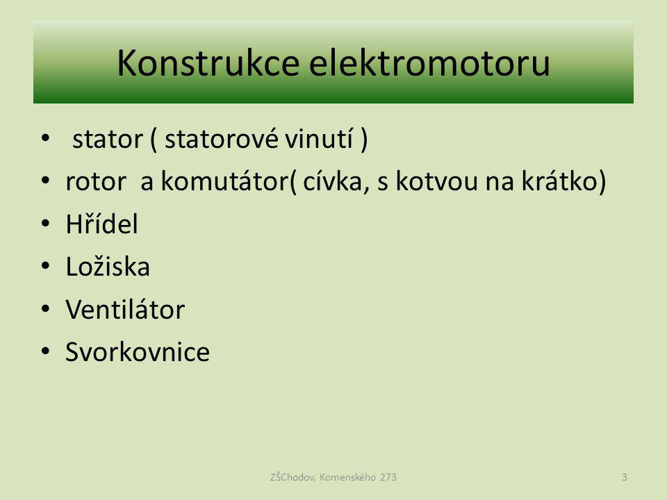 Konstrukce elektromotoru