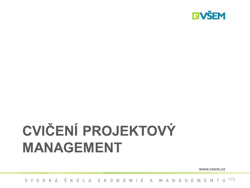 Cvičení Projektový management
