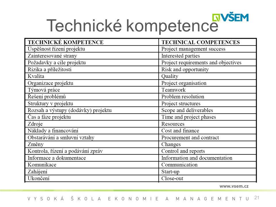Technické kompetence