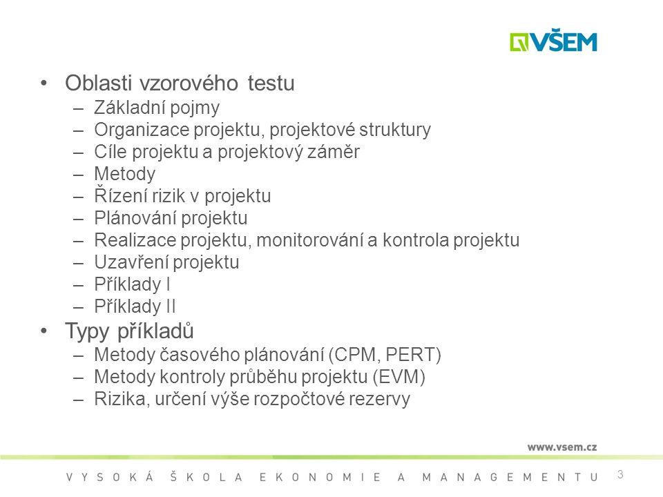 Oblasti vzorového testu