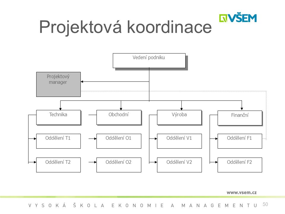 Projektová koordinace