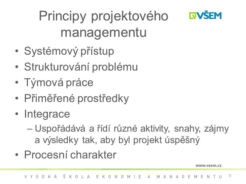 Principy projektového managementu