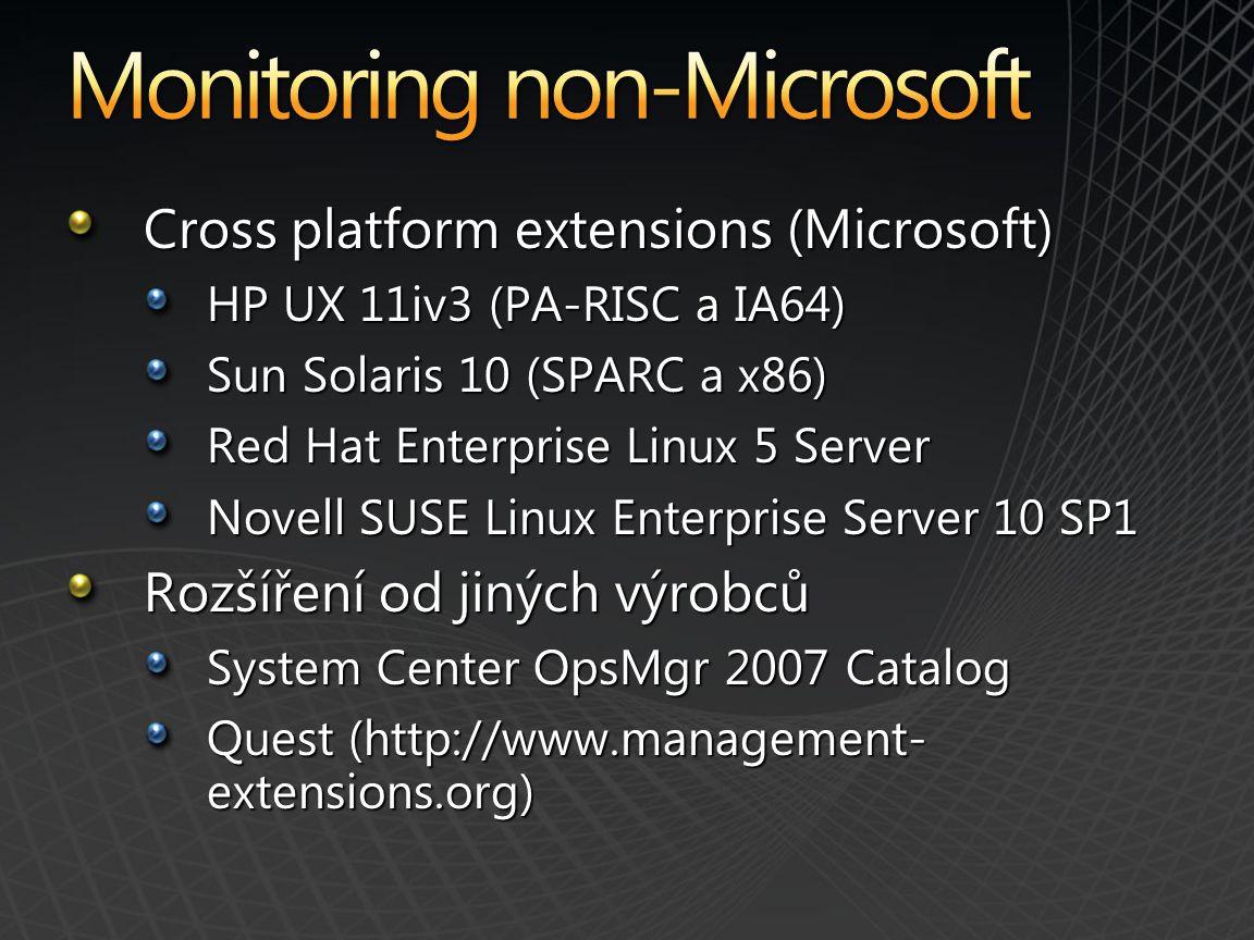Monitoring non-Microsoft