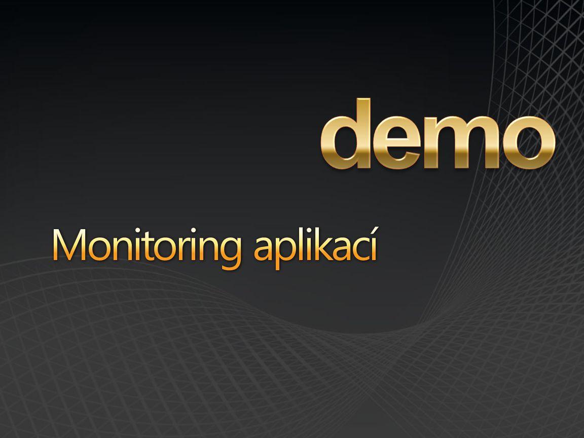 demo Monitoring aplikací