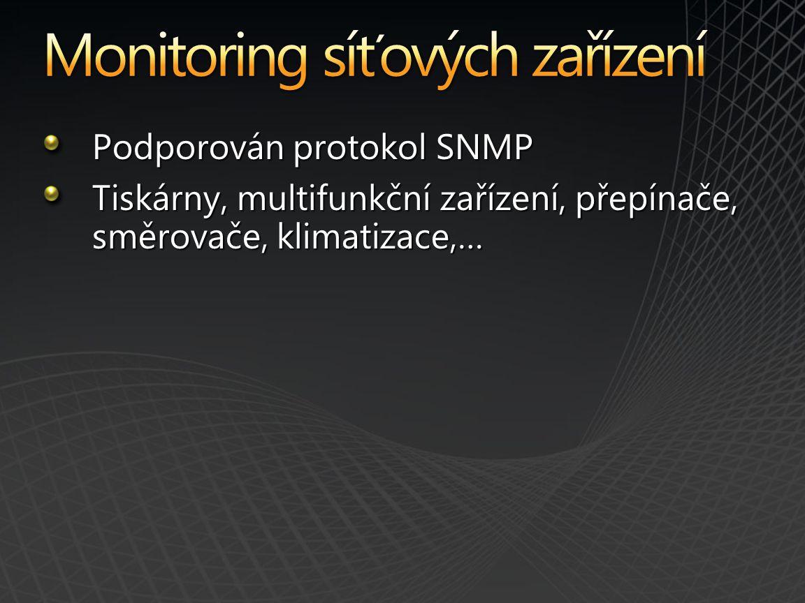 Monitoring síťových zařízení