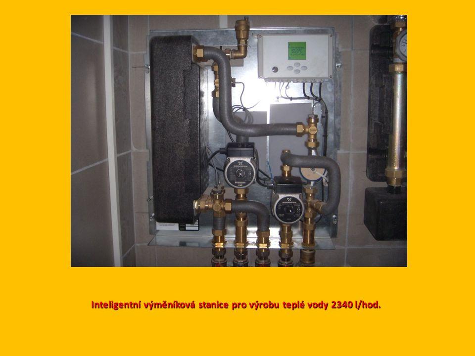 Inteligentní výměníková stanice pro výrobu teplé vody 2340 l/hod.