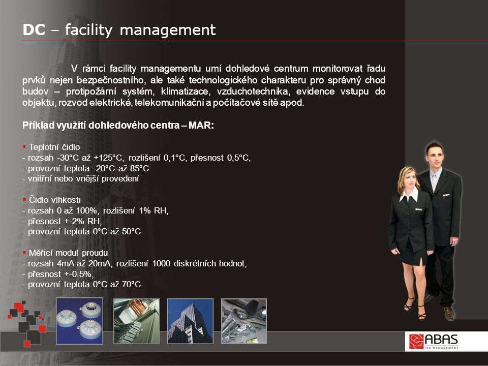 DC – facility management