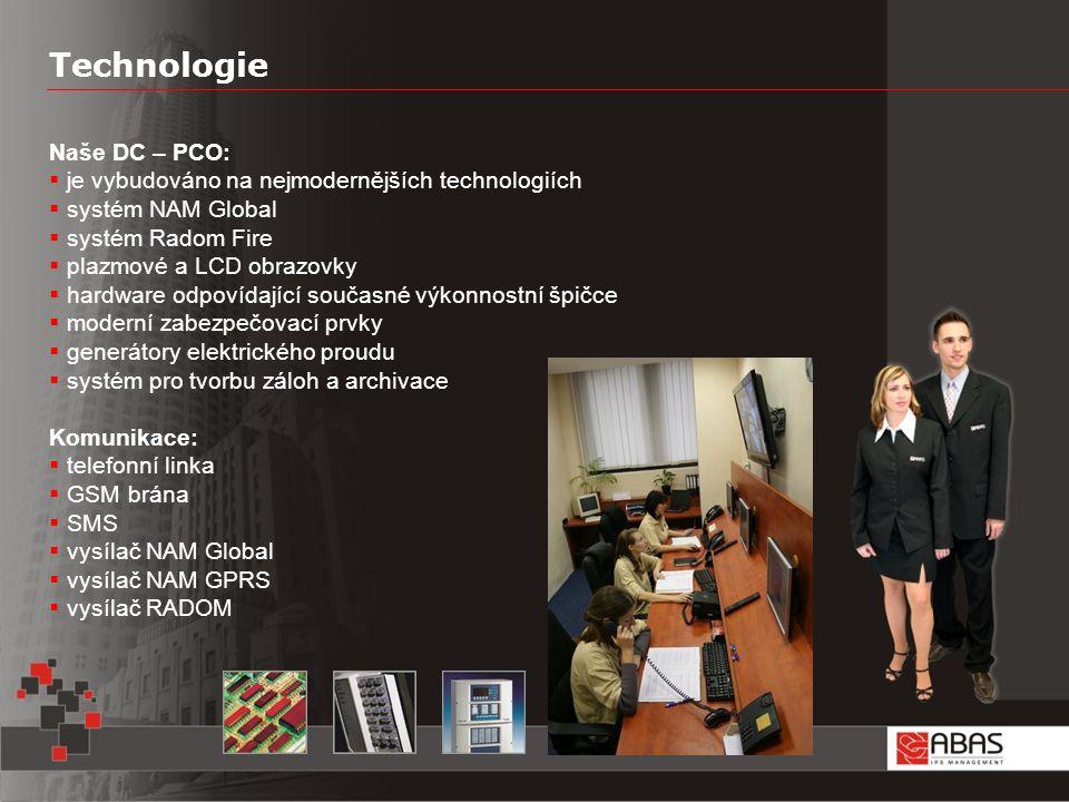 Technologie Naše DC – PCO: