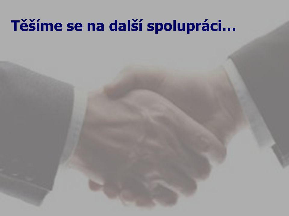 Těšíme se na další spolupráci…