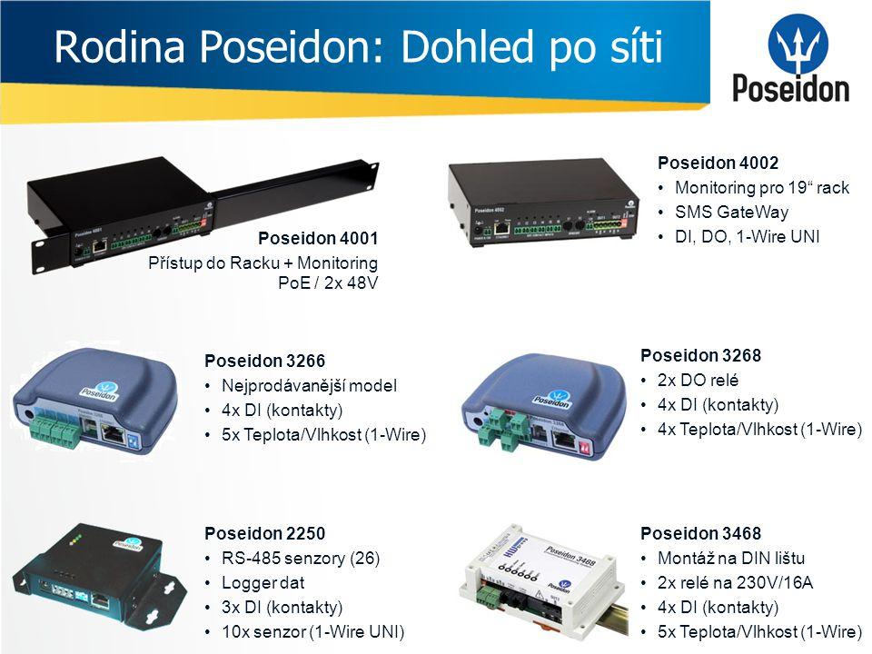 Rodina Poseidon: Dohled po síti