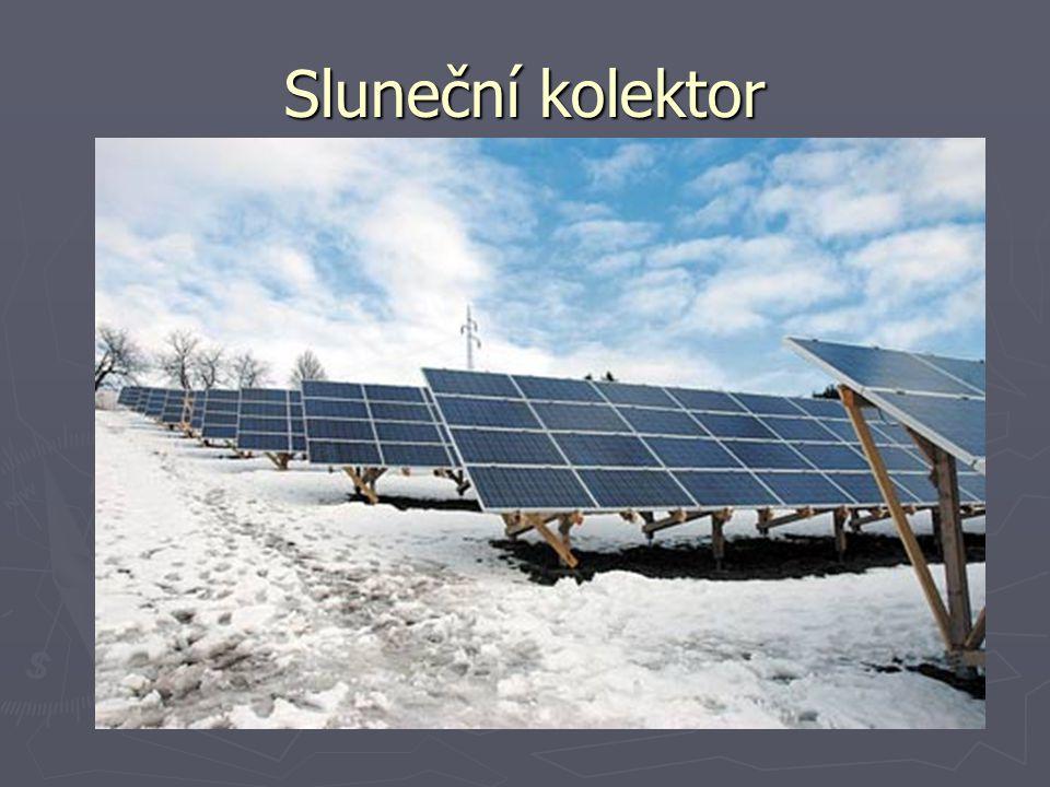 Sluneční kolektor