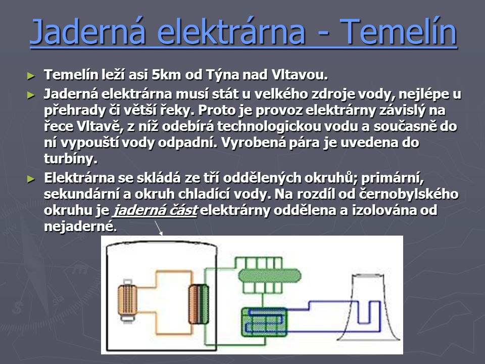 Jaderná elektrárna - Temelín