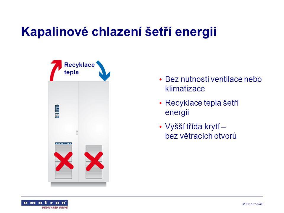 Kapalinové chlazení šetří energii