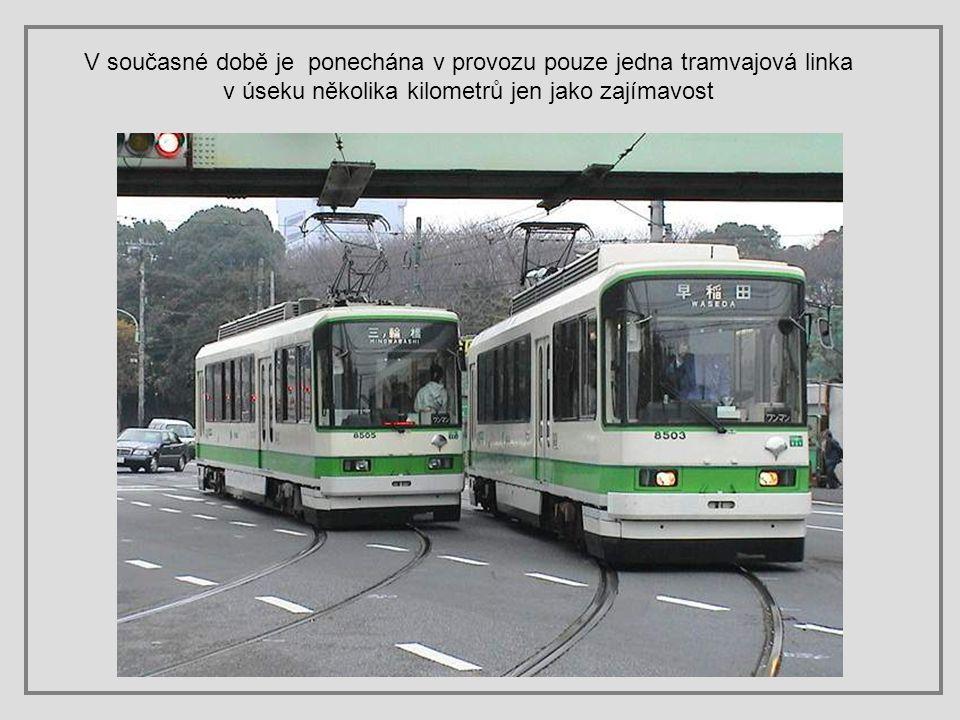 V současné době je ponechána v provozu pouze jedna tramvajová linka v úseku několika kilometrů jen jako zajímavost