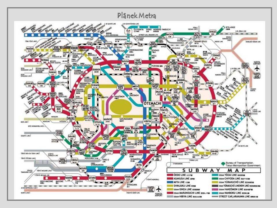 Plánek Metra
