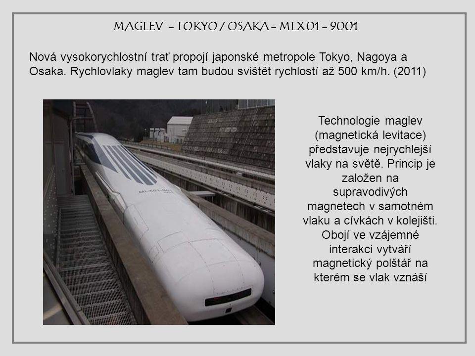 MAGLEV - TOKYO / OSAKA - MLX 01 - 9001