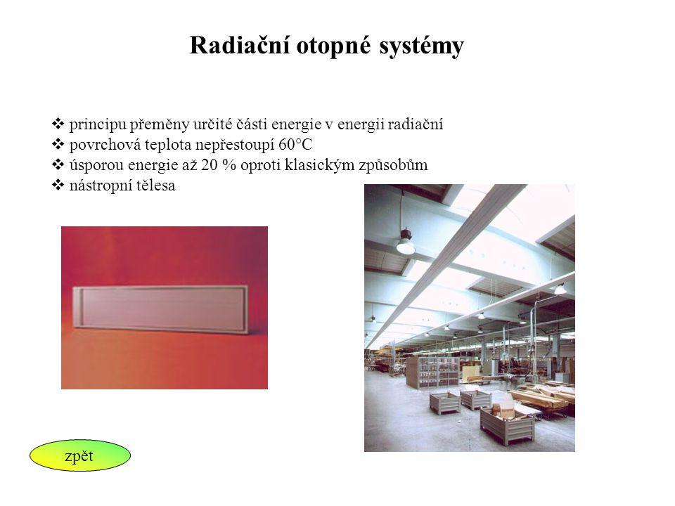 Radiační otopné systémy