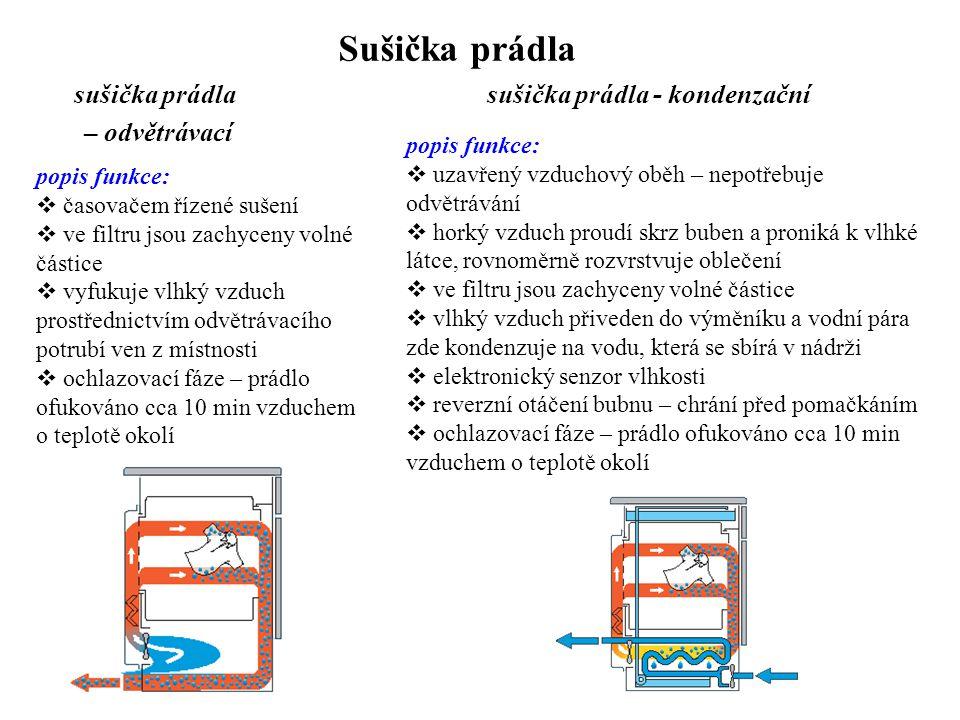 sušička prádla - kondenzační
