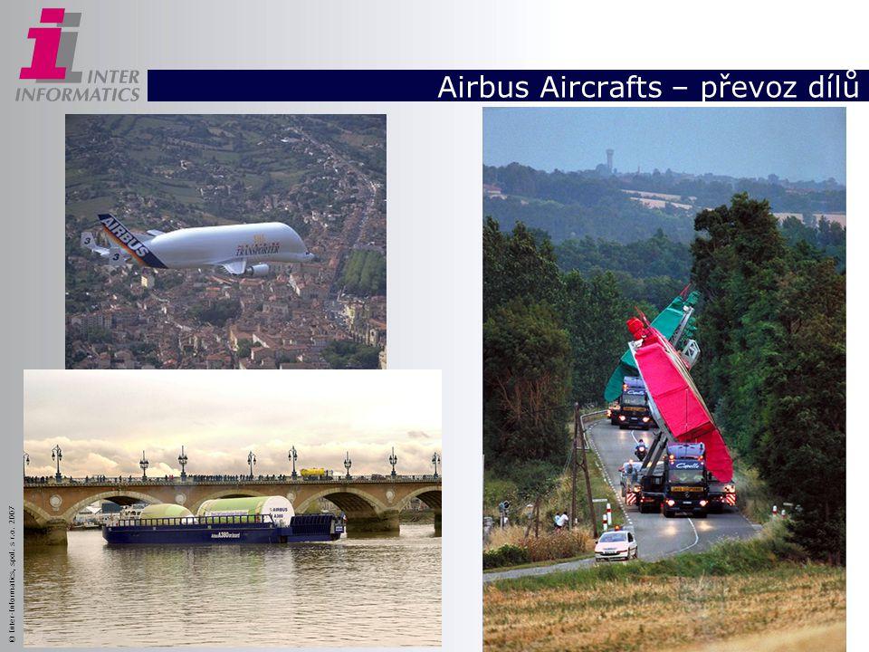 Airbus Aircrafts – převoz dílů