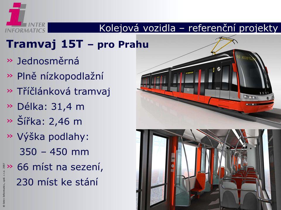 Kolejová vozidla – referenční projekty