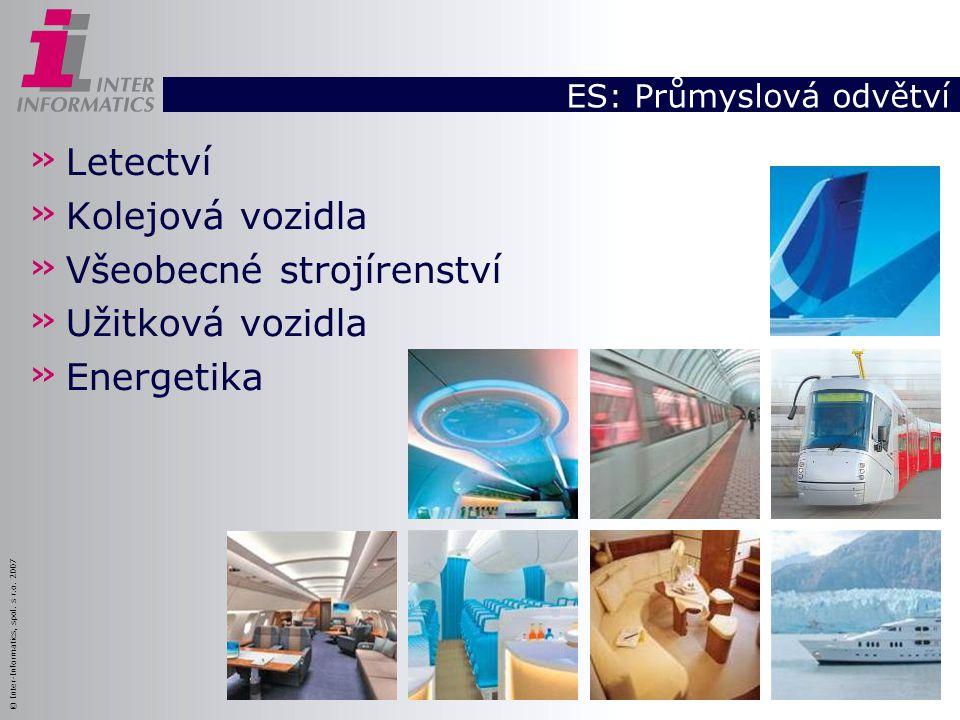ES: Průmyslová odvětví