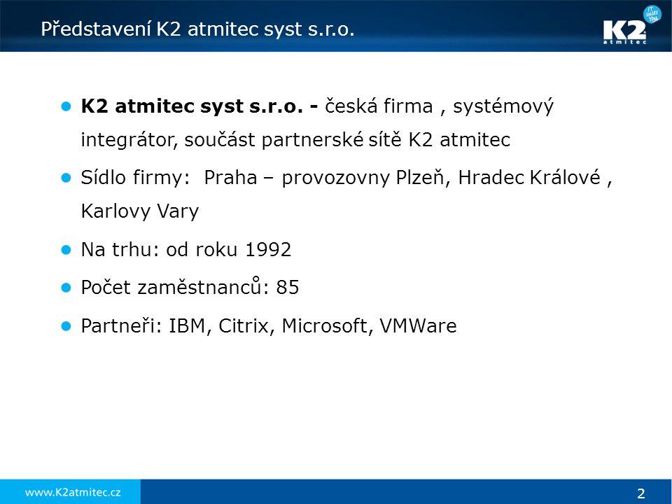 Představení K2 atmitec syst s.r.o.