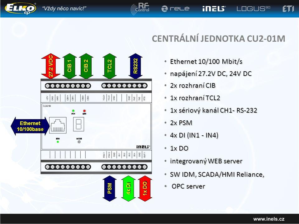 CENTRÁLNÍ JEDNOTKA CU2-01M
