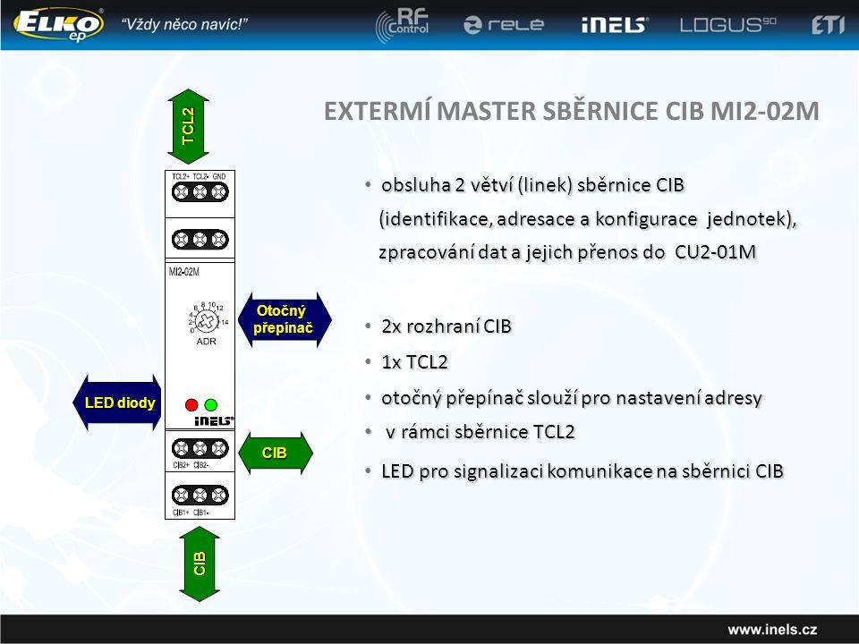 EXTERMÍ MASTER SBĚRNICE CIB MI2-02M