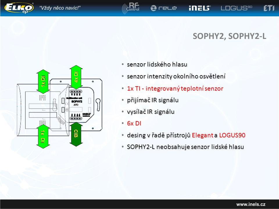 SOPHY2, SOPHY2-L senzor lidského hlasu