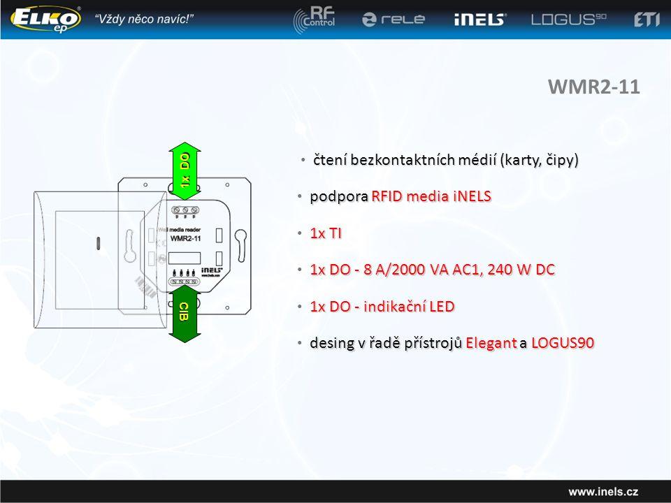 WMR2-11 čtení bezkontaktních médií (karty, čipy)