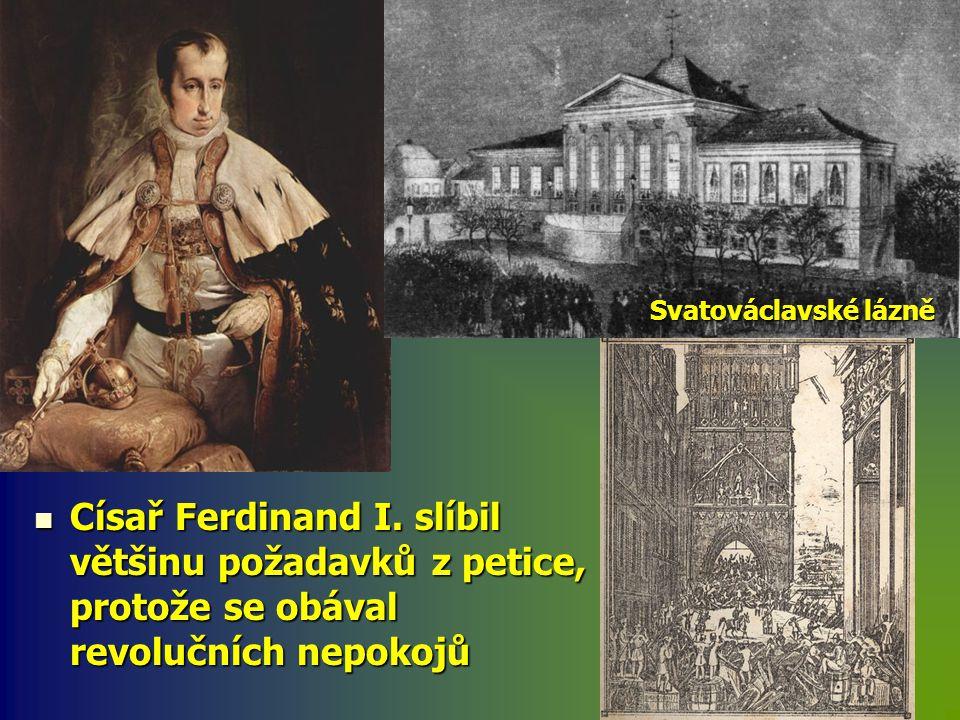 Svatováclavské lázně Císař Ferdinand I.