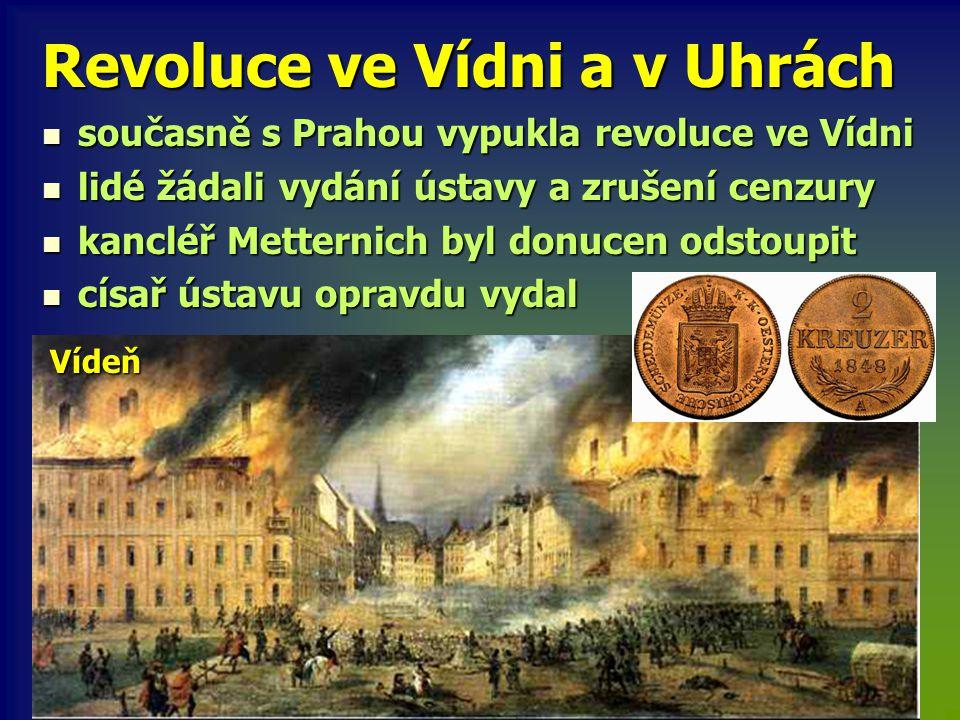 Revoluce ve Vídni a v Uhrách