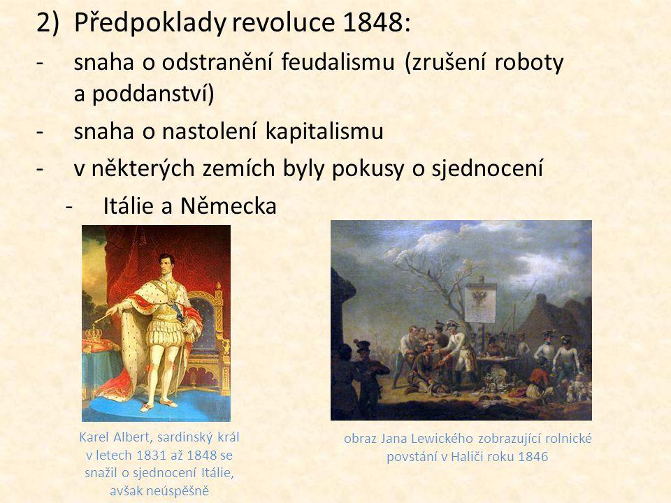 obraz Jana Lewického zobrazující rolnické povstání v Haliči roku 1846