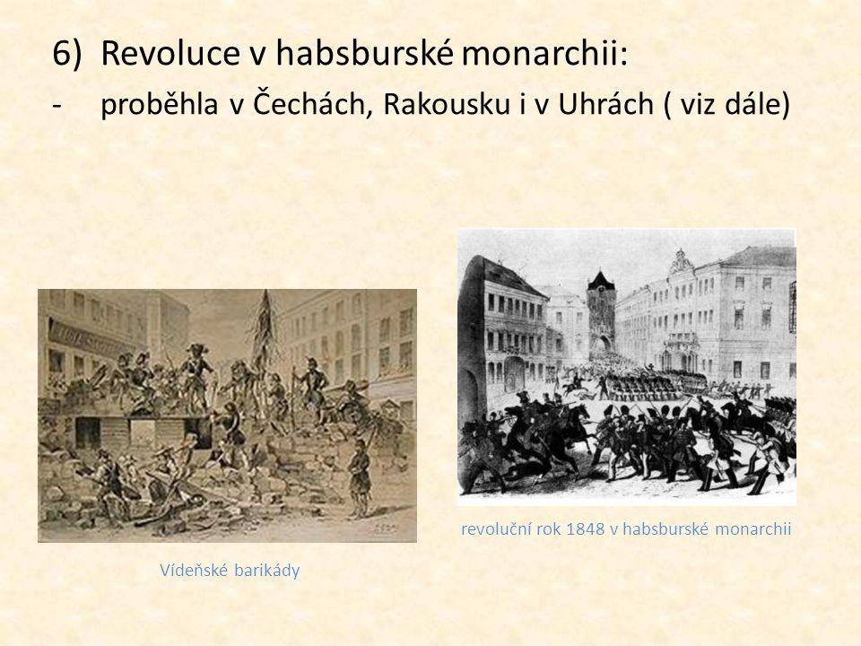 revoluční rok 1848 v habsburské monarchii