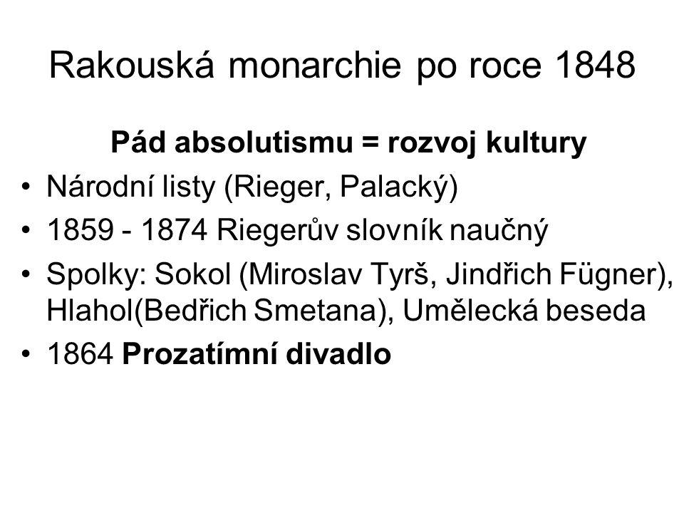 Rakouská monarchie po roce 1848
