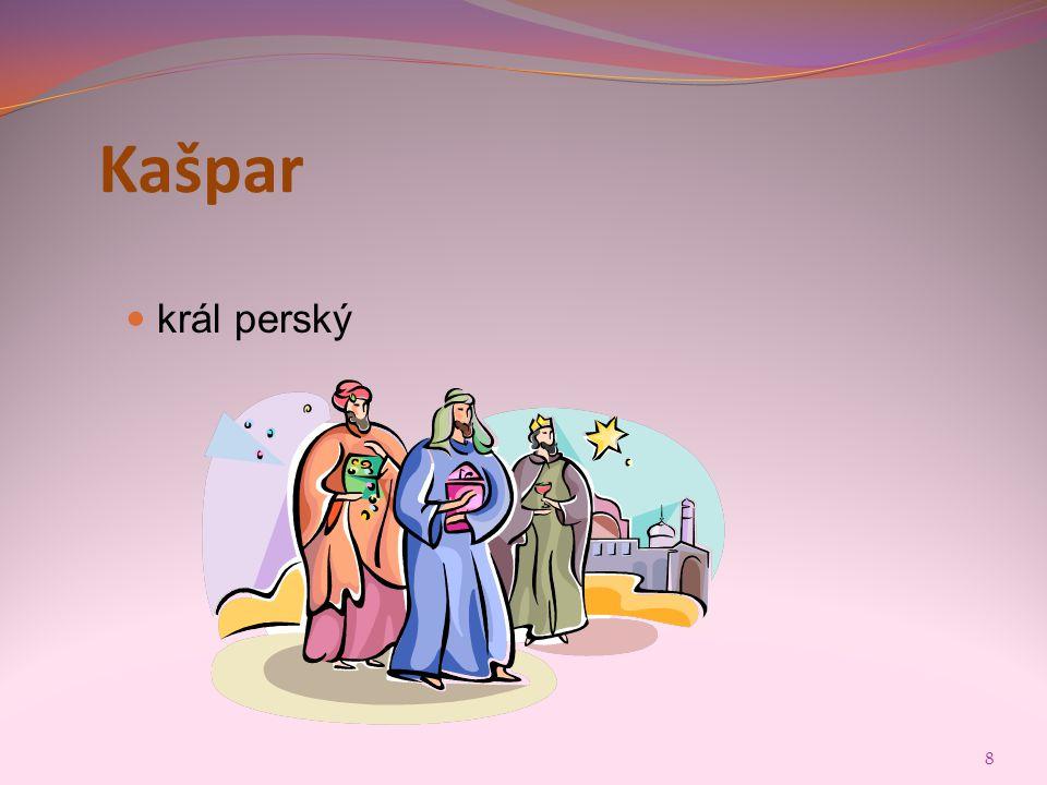 Kašpar král perský