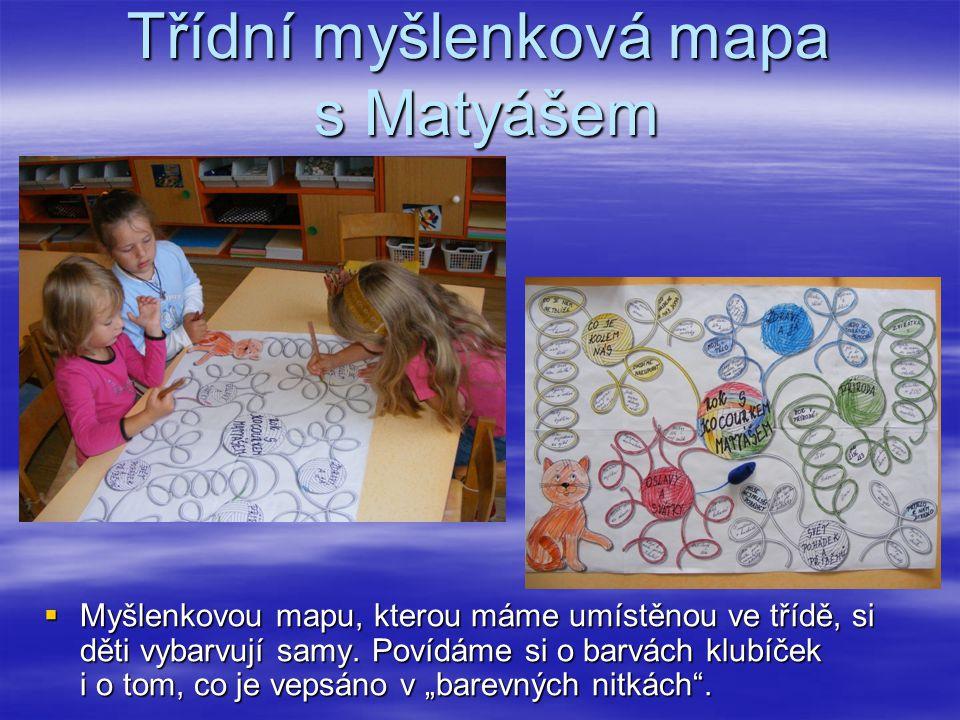 Třídní myšlenková mapa s Matyášem