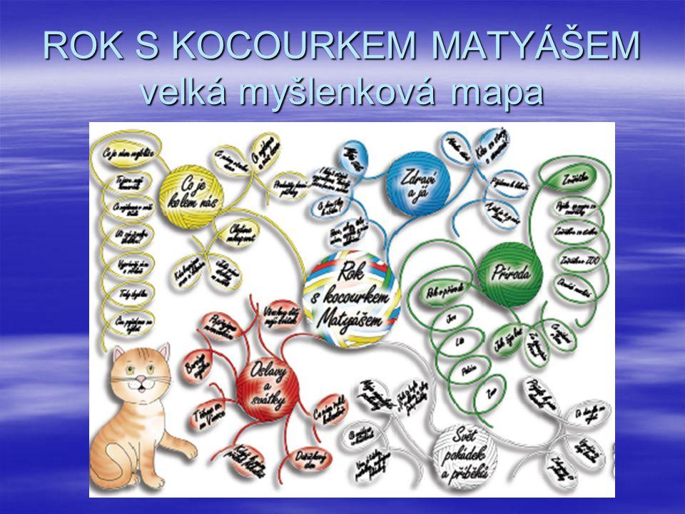 ROK S KOCOURKEM MATYÁŠEM velká myšlenková mapa