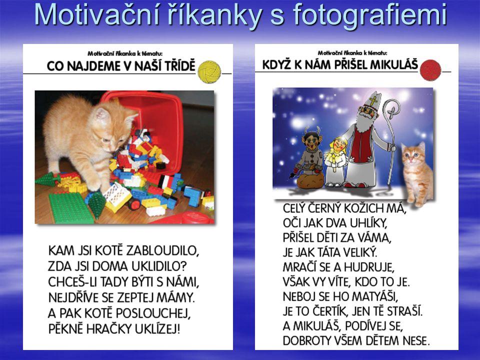 Motivační říkanky s fotografiemi