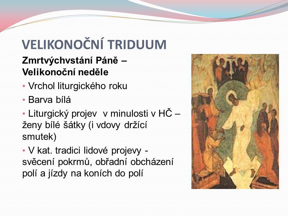 Velikonoční triduum Zmrtvýchvstání Páně – Velikonoční neděle