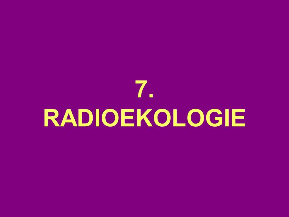 7. RADIOEKOLOGIE