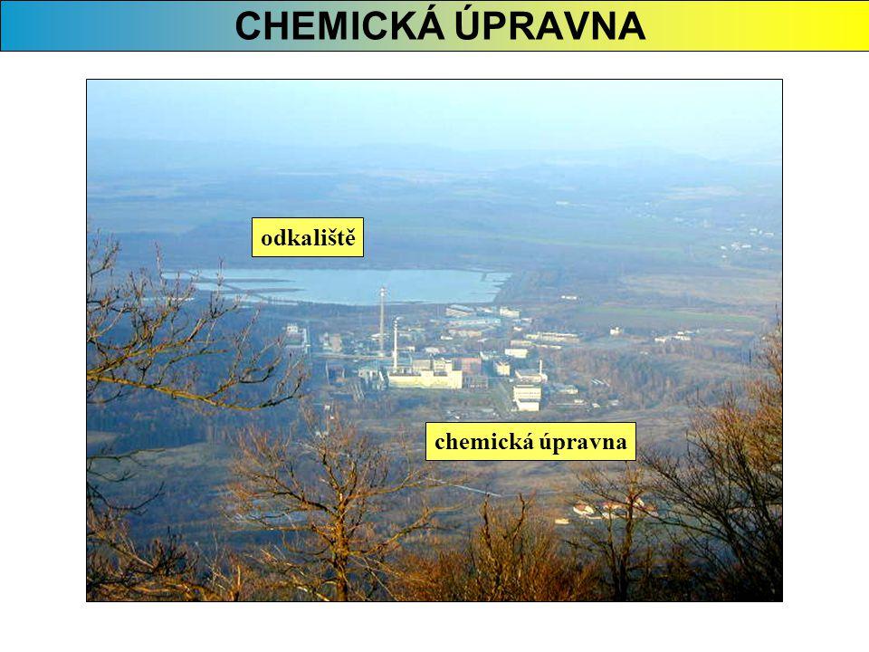CHEMICKÁ ÚPRAVNA odkaliště chemická úpravna