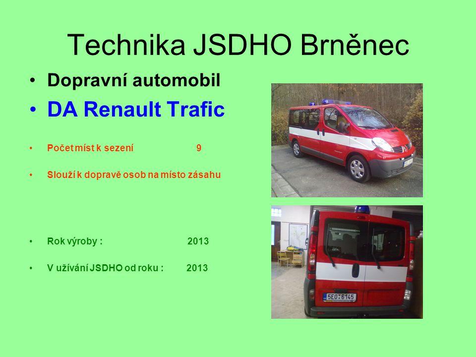 Technika JSDHO Brněnec