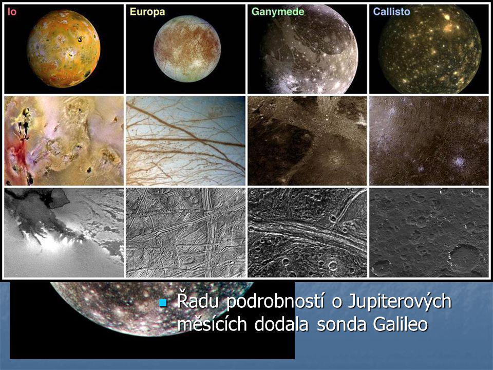 Fotogalerie měsíců Jupiter – nejznámější 4 tzv. Galileovy měsíce: Io, Ganymed, Europa a na obrázku Callisto.
