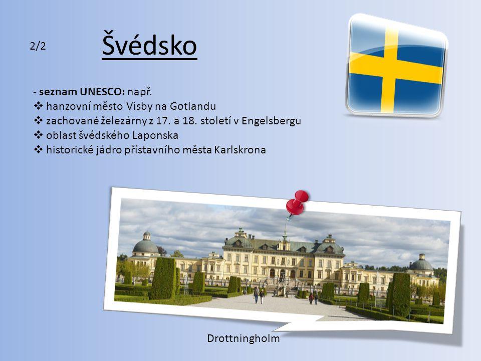 Švédsko 2/2 seznam UNESCO: např. hanzovní město Visby na Gotlandu