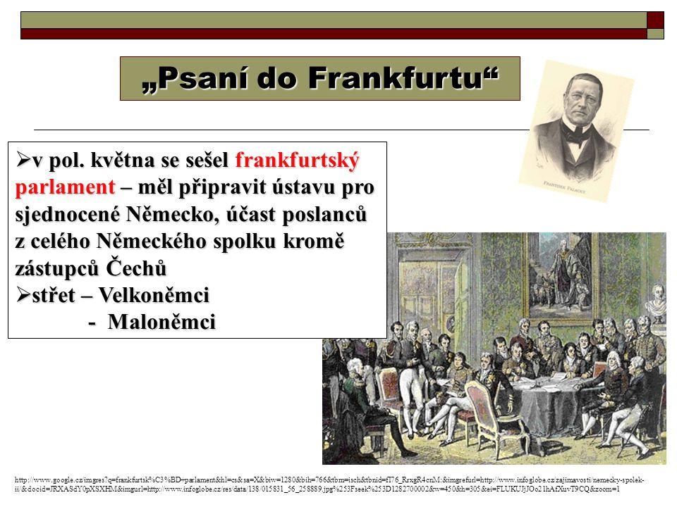 """Psaní do Frankfurtu"